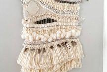 Weaving / tissage et macramé