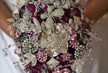 Brooch wedding flowers