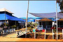 Cubagoa Beach Huts Agonda / Cubagoa Beach Huts Agonda offers multi-cuisine beach shack restaurant with sea front beach huts bungalows accommodation in Agonda Beach South Goa, more Info http://www.cubagoa.com/beach-huts-bungalows-agonda-beach.html