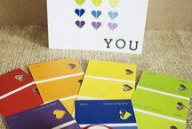 Paint samples / Cards from paint samples