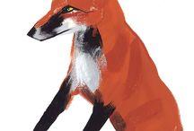 foxes / by Diane Reid