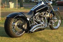 motorsiklette
