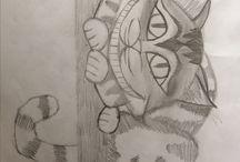 Mine tegninger