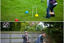 Vintage Games / Vintage games both indoor and outdoor to entertain your guests during afternoon tea