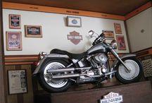 Quadro Harley Davidson - Fat Boy