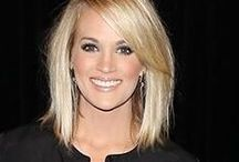 Hair styles / Long bobs short bobs layers and hair color ideas