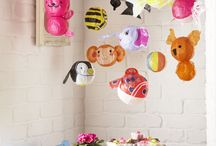 cute balloons / Made from paper
