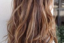 Balyage Highlights / The latest trend in highlights right now - free hand painted highlights.