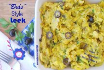 """""""Brás"""" Style Leek (Vegan, No added Oils) / This """"Brás"""" Style Leek does not disappoint. It has the flavor, the texture, the look…it has everything! Including a good amount of omega 3…VEgan, gluten-free, oil-free."""