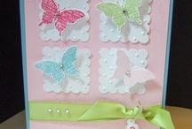 Cards w/Butterflies / by Betty Archuleta