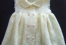 vestidos de bebés