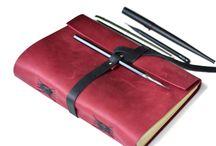 Кожаный блокнот / Блокноты из натуральной кожи