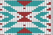 Aztec crochet graph