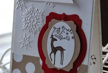 Stampin' Up! - Christmas cards/projects