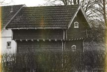 Old Norwegian Farmhouses etc