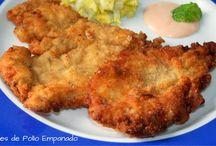 Recetas con pollo / Las recetas más ricas y FÁCILES CON POLLO. Para toda la familia.
