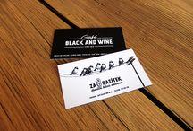 CAFÉ BLACK AND WINE / Café design