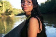 Portraits of indigenous women