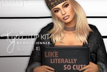 The sims 4- Kylie Jenner <3