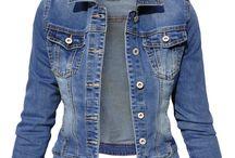Kurtka Damska Katana Jeans Denim #139 FASHIONAVENUE.PL