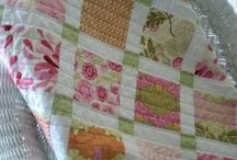 lil quilts... from charm packs, jelly rolls