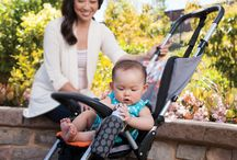 Infantino's Neoprene Necessities for on-the-go moms  / Thanks to the Neoprene Necessities stretchability factor, these products will, quite amazingly, stretch-to-fit pretty much any and every size and shape of baby gear. The wipeable neoprene fabric cleans in an instant or pops into the washer with no special fuss. It's cushy, comfy, and fun for little hands to grip and tug. Did we mention water-resistant? (And milk, juice and smoothie resistant?) Yep, and all these must-haves are stylishly designed to match your sense of style.  / by INFANTINO