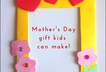 Gift ideas to make with kids / Gift ideas kids can make for various occasion