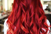 Inspirações Capilares / Hair / cachos, undulados, coloridos, fantasia ;**