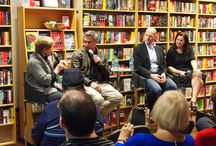 Taylor, Thoft & Petrie! / Brad Taylor, Ingrid Thoft, and Nicholas Petrie all came to The Poisoned Pen to talk about their latest books! January 2017.