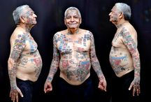 500 tattoos on a 74 year old man / Har Parkash Rishi, who claims to have set more than 20 records, now calls himself Guinness Rishi.