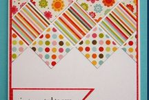 cards - patchwork and sewing