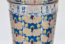 Early-twentieth-century Bohemia glass