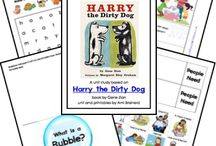 Picture book play-Harry the dirty dog