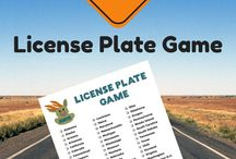 Road Trip Car Games / Games to play in your car on a road trip. Great for both kids AND adults!