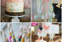 Event Theme: BOHO Tribal Baby shower or Wedding / BOHO Tribal floral arrows feathers aztec dream catchers party, baby shower, diaper shower, bridal shower, wedding, engagement, retirement, birthday, baptism, or any event.