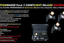 CARRYLIGHT LED / Luminarias portátiles de locación tecnología LED