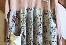 ubrania przerobione