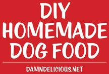 Homemade dog food