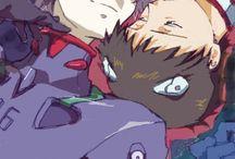 Kaworu/Shinji