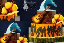 Guitar Cakes