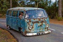 VW Bus / Vette VW bussen