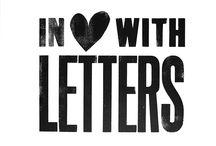 letters - handlettering