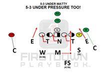 FirstDown PlayBook Youth Football Defense / FirstDown Playbook has 350 unique #YouthFootball Defenses at https://firstdownplaybook.com.