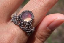 Macramé - prsteny