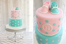 Gender Reveal Baby Shower Cakes / Gender Reveal Baby Shower Cake ideas / by Maternity and Baby Showers