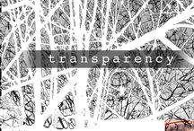 Graphic Communication 'Transparency & Obscurity' project - Year 1 students at ISCA