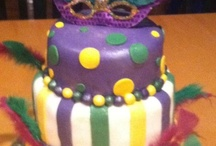 Mardi Gras themed birthday party / by Naima Mitchell