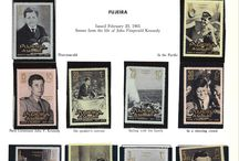 FUJEIRA Stamps JFK / John F. Kennedy stamps collection of Fujeira.