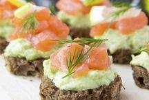 Avocado e salmone