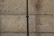 medieval 15 th lámpások,gyertyatartók